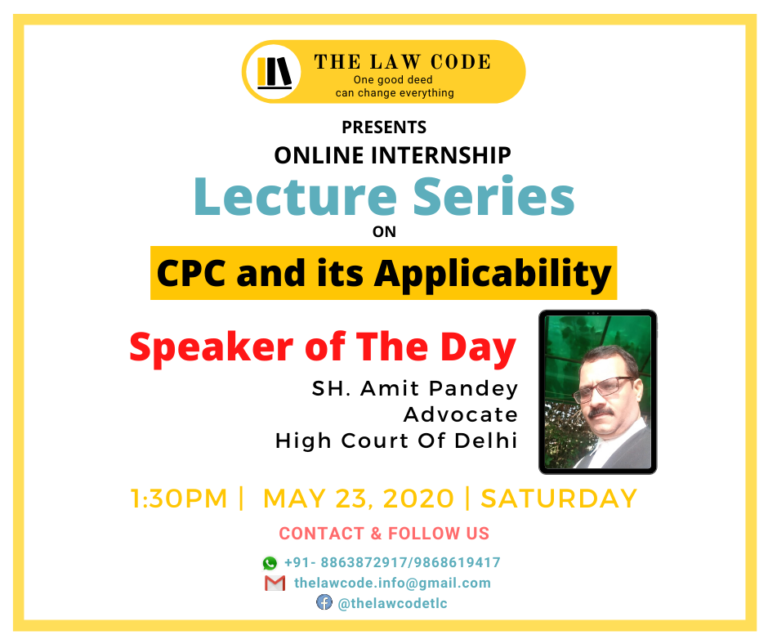 Lecture by Sh. Amit Pandey